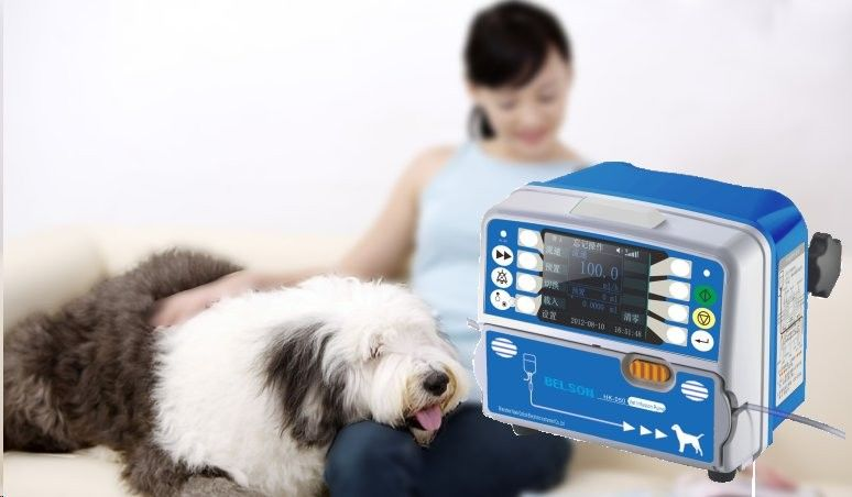 Portable Medical Veterinary Infusion Pump With Colorful LCD Display