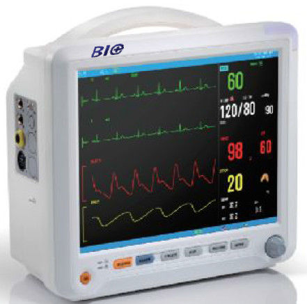 Color TFT LCD Display Multi - Parameter Patient Monitor Anti - Interference Fetal Heart