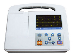 3 Channel Ecg Monitoring Device , Portable Ecg Machines High Accuracy