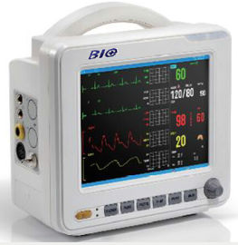 চীন 8 Inch High Resolution Multipara Patient Monitor with Color LCD Display কারখানা