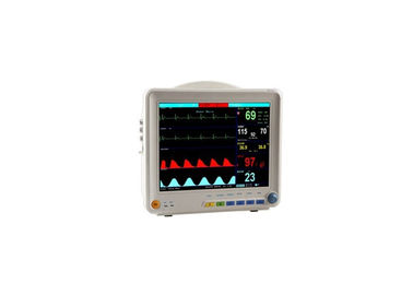 চীন Patient Monitoring Systems Multi Parameter Patient Monitor With 12 Inch TFT Screen কারখানা